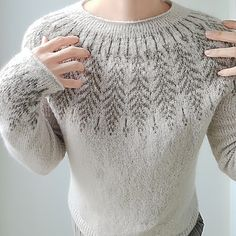 Ravelry: Brightfeather pattern by Jennifer Steingass You are in the right place about stricken babym Knitting Blogs, Knitting Yarn, Knitting Projects, Baby Knitting, Icelandic Sweaters, Knit Sweaters, Fabric Yarn, Fair Isle Knitting, Knitting Patterns