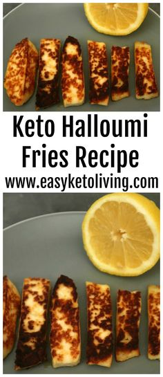 Keto Halloumi Fries - How to make easy and crispy Halloumi Fries which are low carb and Ketogenic Diet friendly. A simple Keto Snack! Ketogenic Diet Meal Plan, Ketogenic Diet For Beginners, Keto Meal Plan, Diet Meal Plans, Ketogenic Recipes, Keto Foods, Keto Snacks, Healthy Diet Recipes, Low Carb Recipes