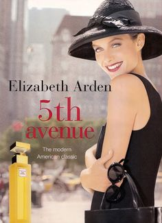The Art of Perfume Ads: Elizabeth Arden Avenue Natalia Vodianova, Claudia Schiffer, Cindy Crawford, Heidi Klum, Vintage Advertisements, Vintage Ads, Retro Ads, Kenzo, Elizabeth Arden Perfume