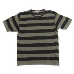 #ISSEYMIYAKE Issey Miyake Men, Striped Shorts, Stripes, Knitting, Sleeves, Mens Tops, T Shirt, Fashion, Supreme T Shirt