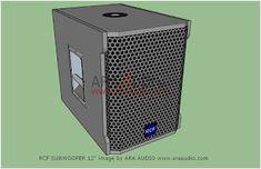 √ Skema Box Subwoofer 12 Model RCF Mantap