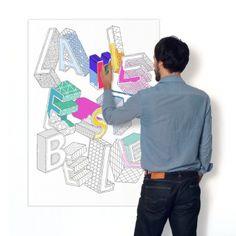 10€ La Vie est belle - Poster à colorier