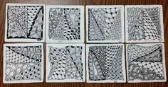 Zentangle Class at The Gull Gallery