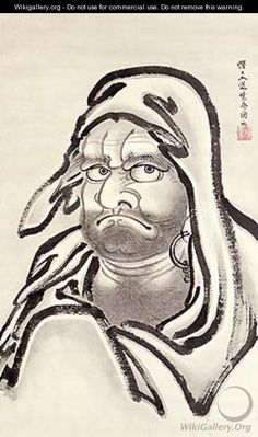 Daruma by Kawanabe Kyosai