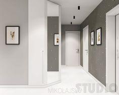 Flat on the Pradnicka street (Kitchen and Salon) on Behance Salon Interior Design, Interior Walls, Studio Room, Salons, Kitchen Design, Street, House, Behance, Flat