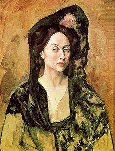 Portrait de Madame Canals (1905)