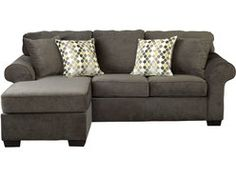 Ashburn 3 Pc Sectional W/4 Pillows