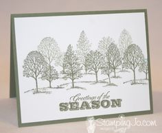 Lovely as a Tree - Stampin' Up!  This is still one of my faves!!