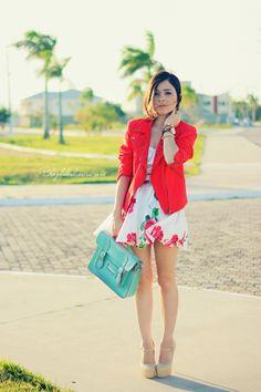 Blog da Lê-Moda Acessível: Vestido Floral