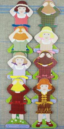 Maison Sajou, Little Girl Thread Cards available from Australian Needle Arts. To view more details please click on http://www.australianneedlearts.com.au/sajou-thread-winders