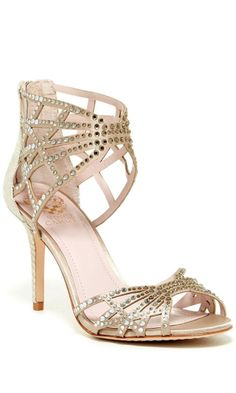 Embellished Cutout Sandals , very pretty