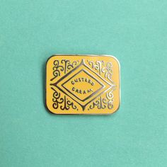 Custard Cream Biscuit Enamel Pin – Nikki McWilliams