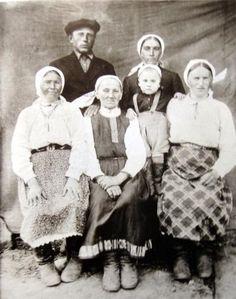 Культура Ленинградской областиТихвинские карелы фото 1940г.