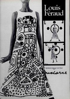Louis Feraud print dress