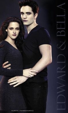 bella cullen vampir dan edward cullen vampir