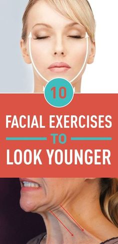If you're into fitness and healthy lifestyle, you know how many different kinds of exercise are needed to stay in shape. From calves and thighs, to abs to arms. But have you ever considered that your face needs exercise too? Facial exercise is one of the Neck Exercises, Facial Exercises, Jowl Exercises, Toning Exercises, The Face, Facial Massage, Double Chin, Stay In Shape, Tips Belleza