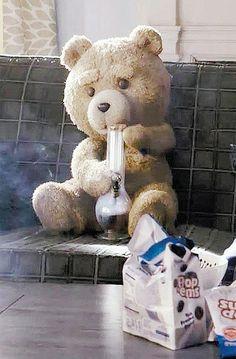 'Urso que fuma maconha não é apropriado para jovens', diz deputado. #Teddy