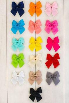 "3"" Hair Bows - Multiple Colors"