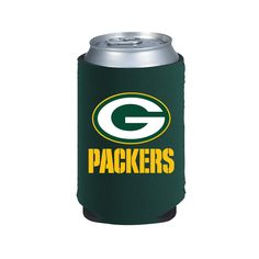 2 Green Bay Packers Beer Soda Water Can Kaddy Koozie Holder Nfl Football Green Bay Packers, Nfl Green Bay, A Team, Team Logo, Nfl Packers, Packers Funny, Can Holders, Neoprene Rubber, Folded Up
