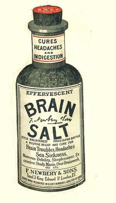 Uk Brain Salt Headaches Humour Art Print by The Advertising Archives. All prints are professionally printed, packaged, and shipped within 3 - 4 business days. Choose from multiple sizes and hundreds of frame and mat options. Headache Humor, Headache Cure, Headache Medicine, Headache Relief, Migraine, Pain Relief, Photo Vintage, Vintage Ads, Vintage Posters