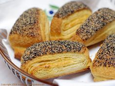 tebirkes - hollow pastry with a smear of marzipan inside and poppy seeds on top