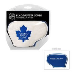 Team Golf Toronto Maple Leafs Blade Putter Cover, Multicolor