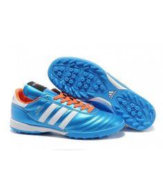 Adidas Copa Mundial TF Fotbollsskor Blå Vit Röd