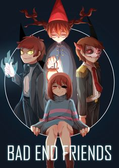 Who is the one with the skull mask!? I kno bipper, Chara,  the kid from over the garden wall and who is that!?