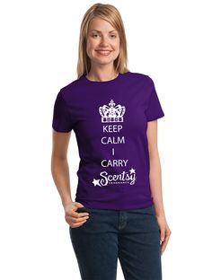 Keep Calm, I Carry Scentsy Fragrance