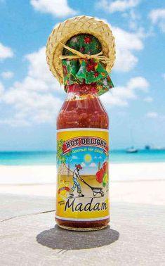 Madam Hot Delight Aruba Hot Sauce Hot Sauce, Stuffed Peppers, Bottle, Spicy Salsa, Stuffed Pepper, Flask, Stuffed Sweet Peppers, Jars