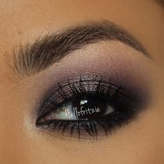 Smokey taupe eye