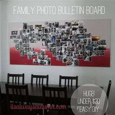 huge+statement+wall+bulletin+board+for+under+$20