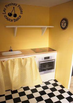 Alice Balice DIY - Maison de Barbie : les meubles de cuisine