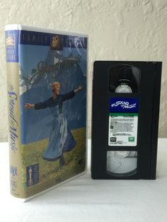 The Sound Of Music Julie Andrews VHS Tape Movie Musical Trapp Family Singers 1965 1996 20th Century Fox Clam Shell Case 4100444 by NostalgiaRocks