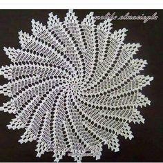 patterns and motifs crocheted motif Crochet Doily Diagram, Crochet Diy, Crochet Doily Patterns, Crochet Home, Thread Crochet, Filet Crochet, Crochet Motif, Irish Crochet, Crochet Doilies