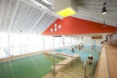 New life for old swimming baths: Ringkøbing Swimming Centre  C.F. Møller. Photo: Martin Schubert