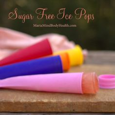 Sugar Free Ice Pops - Maria Mind Body Health
