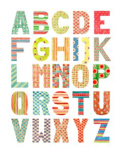Beautiful Alphabets. | Art is a Way