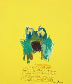 "Saatchi Online Artist: Woo, Kukwon; Oil, Painting ""Frog AB"""
