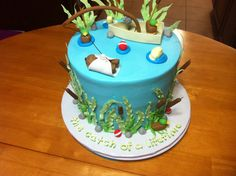 Fishing Baby Shower Cake Jenny Crocker Cakery
