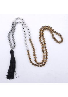 Myrtle Necklaces - Swell Caroline Beaded Tassel Necklace
