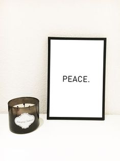 PEACE  #print #poster #interiordesign #prints #blackandwhite #typoprint #typographyprint #peace Typography Prints, Print Poster, Peace, Interior Design, Nest Design, Home Interior Design, Interior Designing, Home Decor, Home Interiors