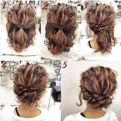 Up Dos For Medium Hair, Medium Hair Styles, Curly Hair Styles, Natural Hair Styles, Medium Curly, Natural Beauty, Medium Hairs, Thin Hair Styles For Women, Long Curly