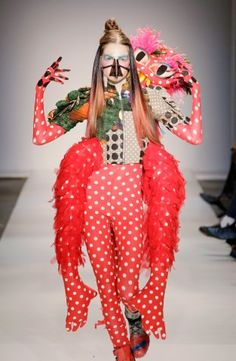 The Fashion Mutant collection is inspired by mutation in nature and is a metaphore for changes in society, the fashion industry and my own company. It contains a wide viarity of birght collours and signature prints. With this collection Bas won the Dutch Fashion Incubator Award 2010. The collection was presented on Amsterdam International Fashion Week at the end of January 2011.    Photography by Peter Stigter