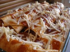 Thy Hand Hath Provided: White Bean Enchiladas