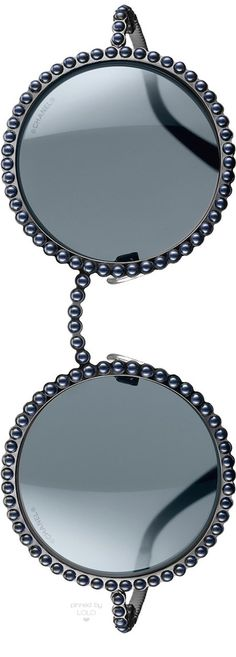Chanel Runway Sunglasses Grey | LOLO❤