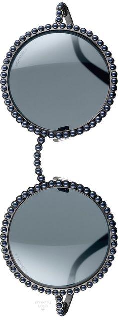 Chanel Runway Sunglasses Grey | LOLO❤