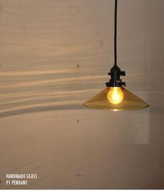 P1-LEDガラスペンダント・琥珀   60W相当   インテリア照明の通販 照明のライティングファクトリー