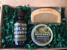 Bryant Gift Idea: Mancanics Beard Care Set (You can also find these guys at RAM)