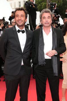 Pin for Later: Les Hommes Font Effet Sur le Tapis Rouge du Festival de Cannes Jean-Michel Jarre et Cyrille Eldin